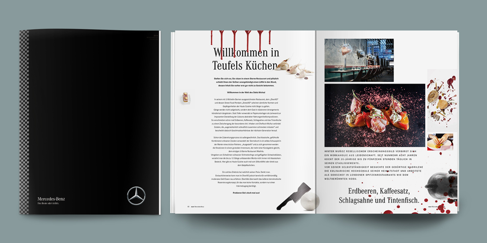 Mercedes-Benz Start Magazin